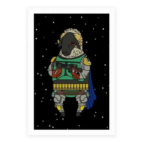 Boba Sheep Poster