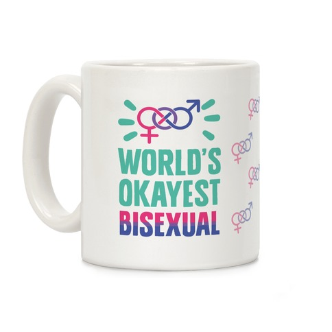 World's Okayest Bisexual Coffee Mug