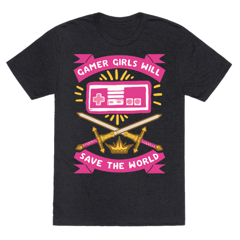 Gamer Girls Will Save The World