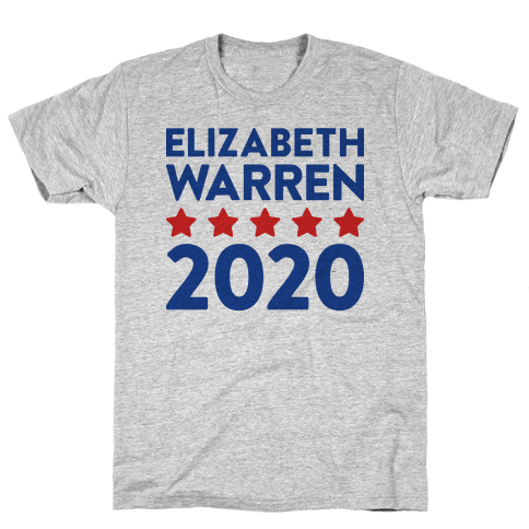 Elizabeth Warren 2020 Mens T-Shirt