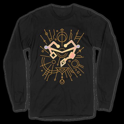 Heart of Etheria Fail Safe Emblem  Long Sleeve T-Shirt