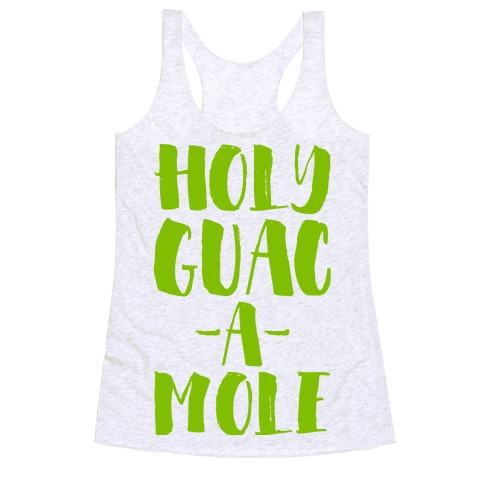 Holy Guacamole! Racerback Tank Top