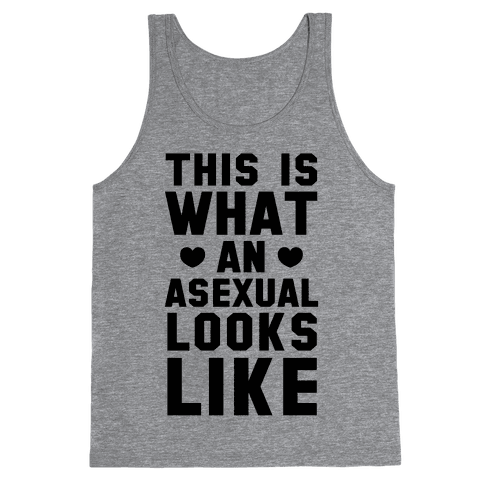 This is What an Asexual Looks Like Tank Top