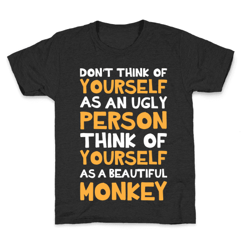 Beautiful Monkey Kids T-Shirt