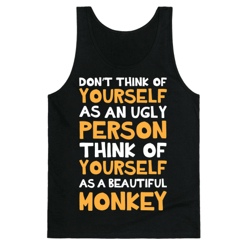 Beautiful Monkey Tank Top