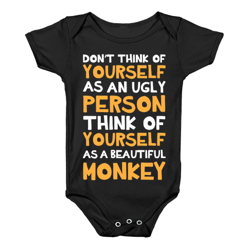 Beautiful Monkey Baby Onesy