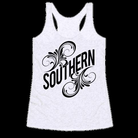 Southern (Soulmates) Racerback Tank Top