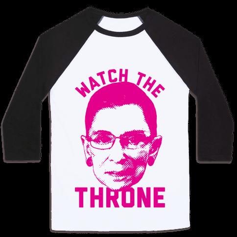 Watch The Throne RGB Baseball Tee
