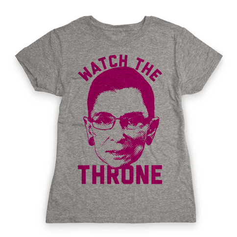 Watch The Throne RGB Womens T-Shirt