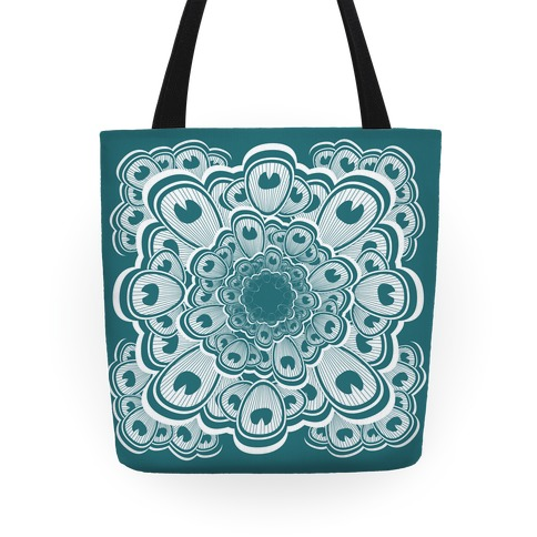 Peacock Pattern Tote