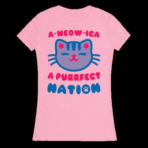 Ameowica Womens T-Shirt