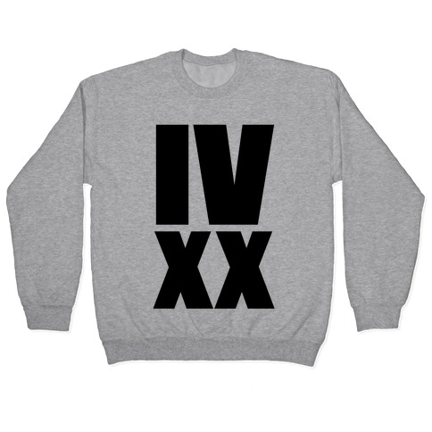 IV XX (4:20) Pullover
