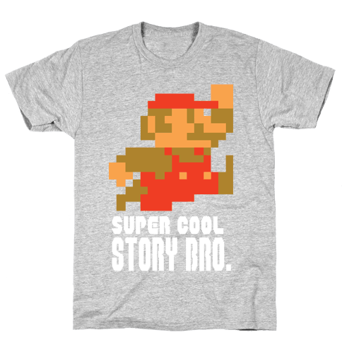 Super Cool Story Bro. Mens T-Shirt
