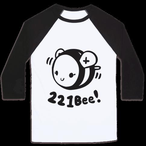 221 Bee Baseball Tee