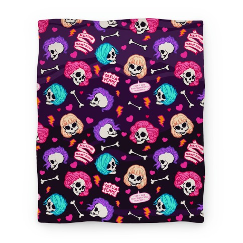 Spooky Scary Feminists Blanket