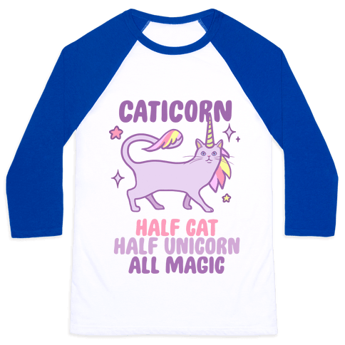 Caticorn Magic Baseball Tee