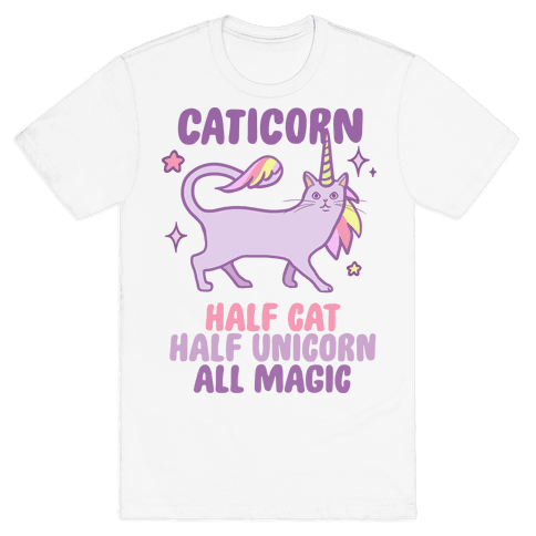 Caticorn Magic Mens T-Shirt