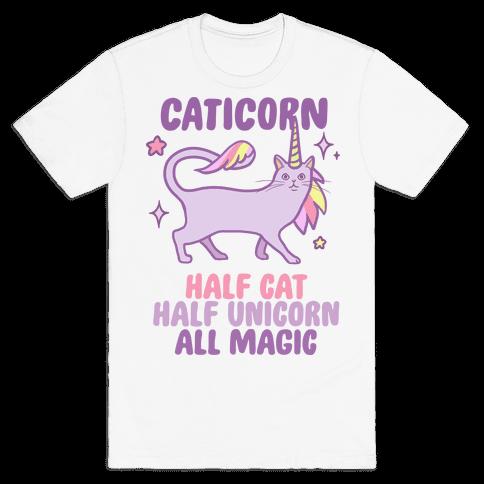 Caticorn Magic Mens T-Shirt