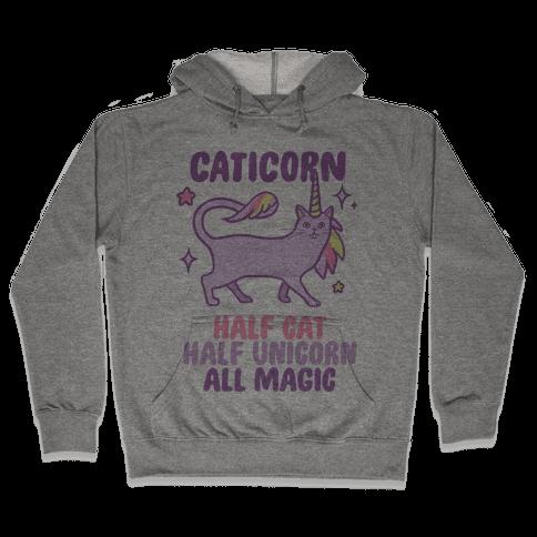 Caticorn Magic Hooded Sweatshirt