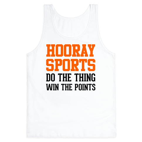 Hooray Sports (Orange) Tank Top