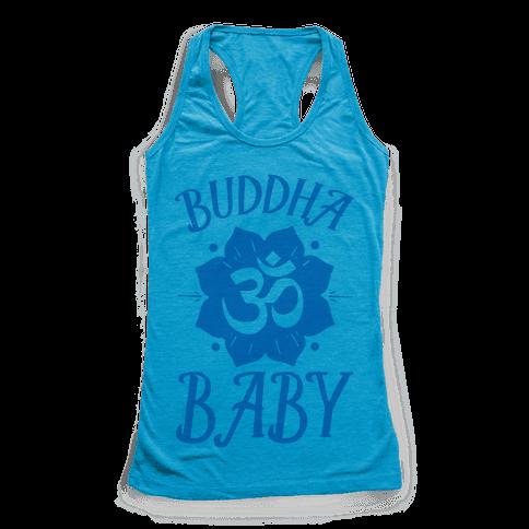 Buddha Baby Racerback Tank Top