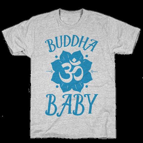 Buddha Baby Mens T-Shirt