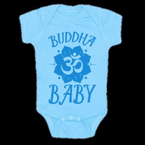 Buddha Baby Baby Onesy