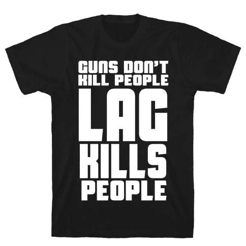 Guns Don't Kill People Mens T-Shirt