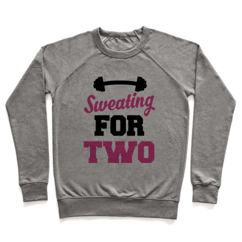 Sweating For Two Pullover