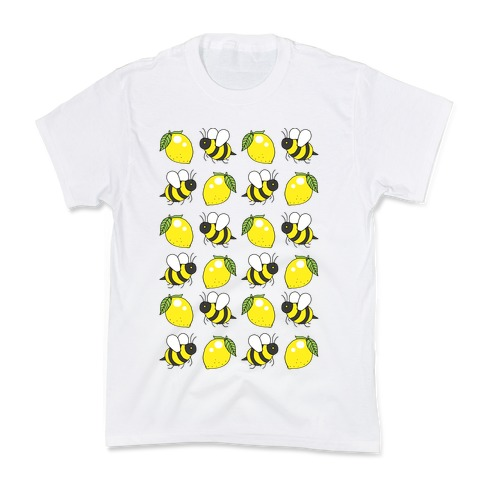 Lemon And Bee Kids T-Shirt
