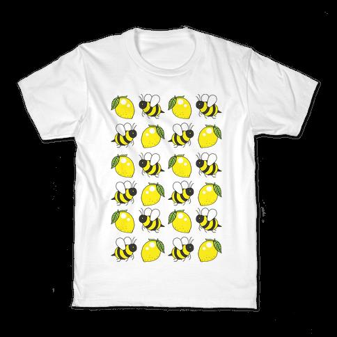 Lemon And Bee Kids T-Shirt
