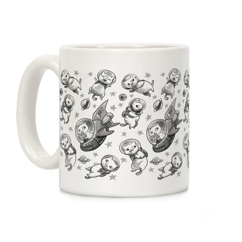 Cats In Space Coffee Mug