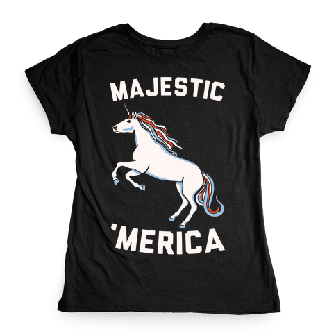Majestic 'Merica Womens T-Shirt