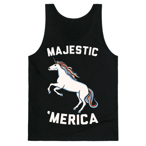 Majestic 'Merica Tank Top