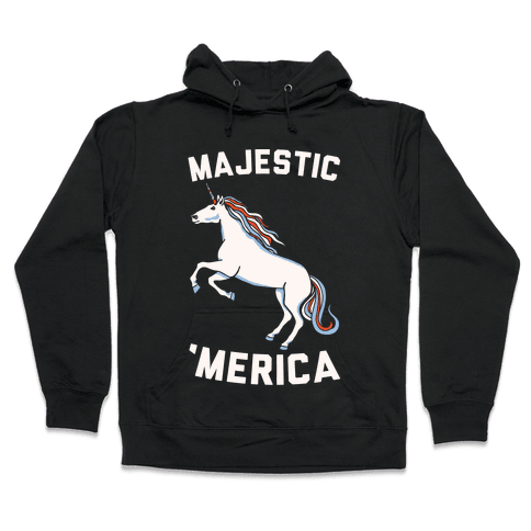 Majestic 'Merica Hooded Sweatshirt