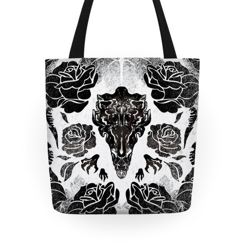 Aliens and Roses Tote