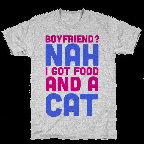 Boyfriend? Mens T-Shirt