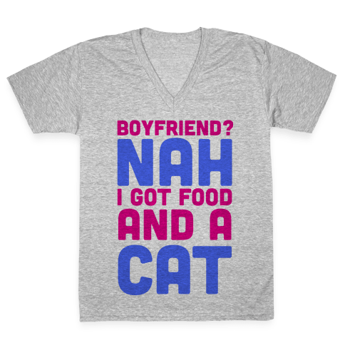 Boyfriend? V-Neck Tee Shirt