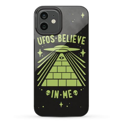 UFOS Believe In Me Phone Case