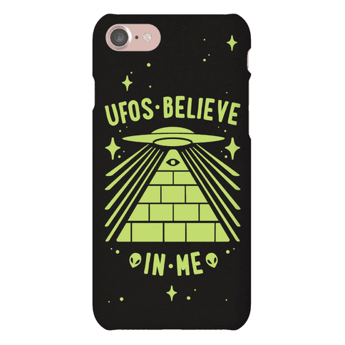 UFOS Believe In Me Phone Case