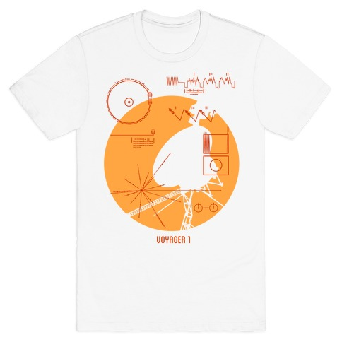 Retro Voyager 1 Golden Record T-Shirt