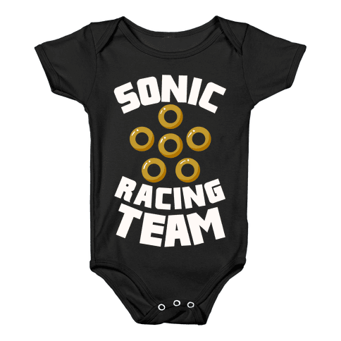 Sonic Racing Team Baby Onesy