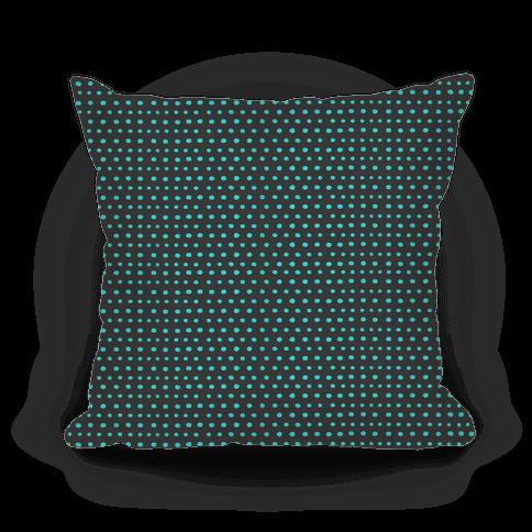 Teal Dot Pattern