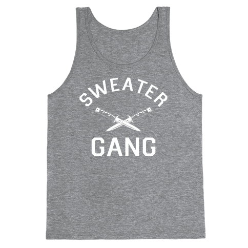 Sweater Gang Tank Top
