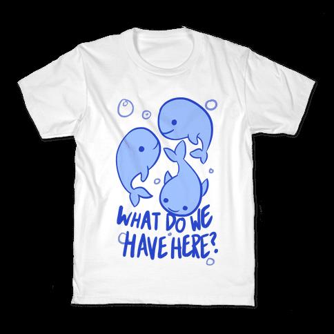 Whale Whale Whale Kids T-Shirt