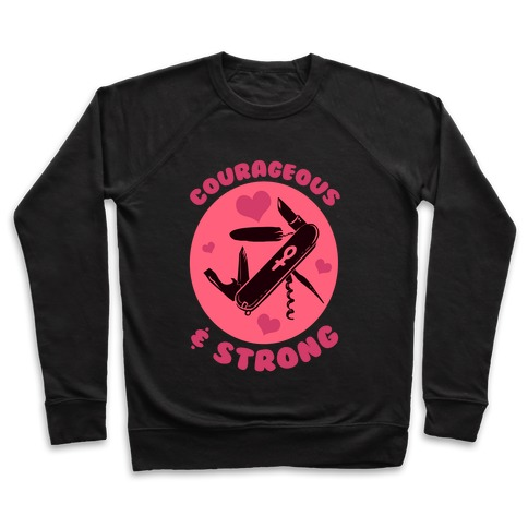 Courageous & Strong Pullover
