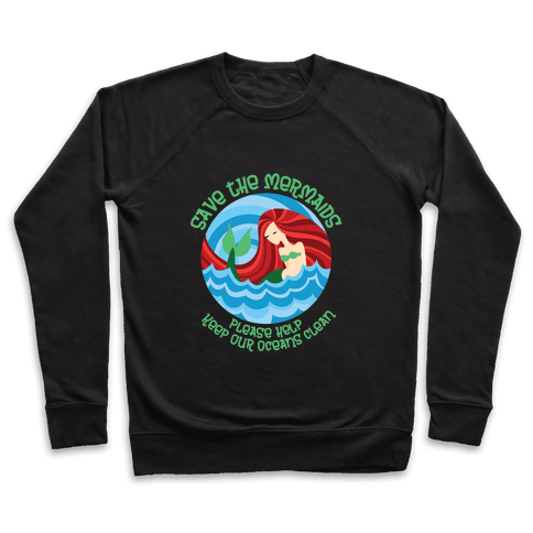 Save The Mermaids Pullover