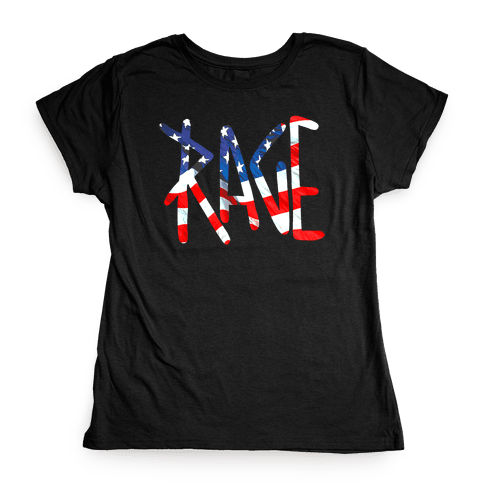 Rage (America) Womens T-Shirt