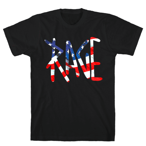 Rage (America) Mens T-Shirt
