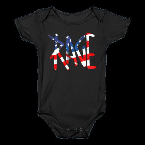 Rage (America) Baby Onesy